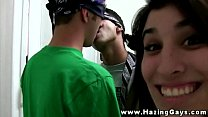 Initiation With Teen Amateur Straight Student
