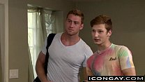 Horny Twink Casey Gives Muscled Connor A Steamy...