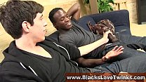 Twink Sucking Black Cock