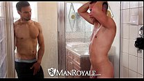 Hd - Manroyale Boyfriends Share A Shower Before...
