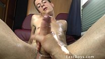 18 Boy Gets Handjob In My Camper